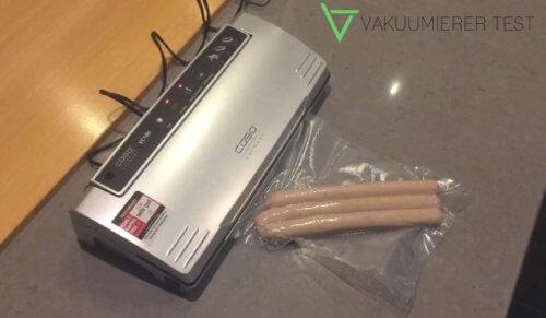 Caso VC 100 Vakuumierer im Test