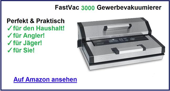 FastVac 3000 Vakuumierer Test 2016