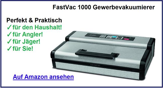 FastVac 1000 Vakuumierer Test